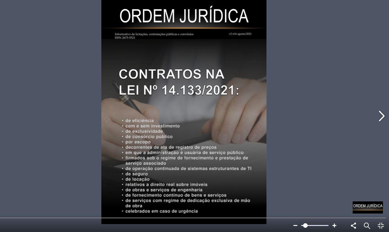 Revista Ordem Jurídica Volume 2