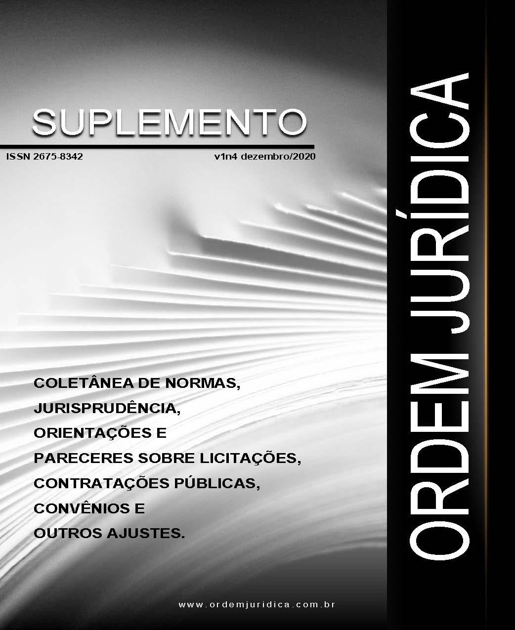 Suplemento Ordem Jurídica Volume 1