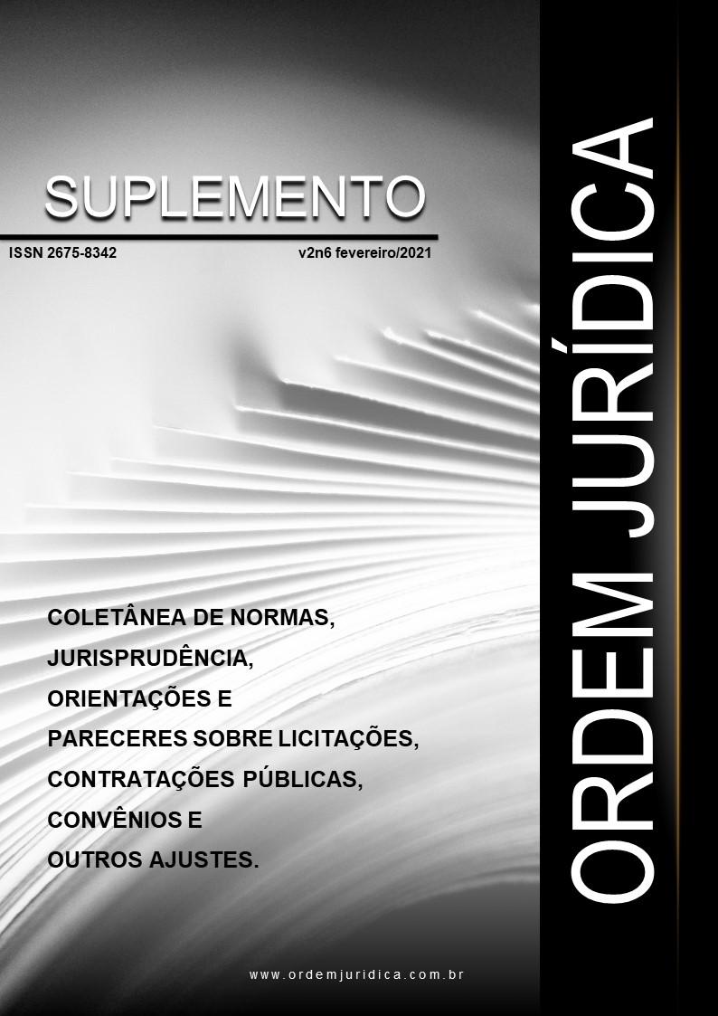 Suplemento Ordem Jurídica Volume 2